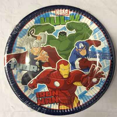 TheVarietyShop_Avengers_Plates_8pc