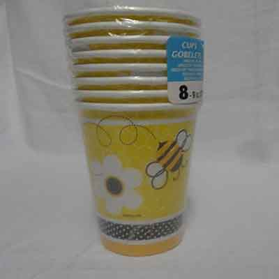 TheVarietyShop_Bee_Cups_8pc