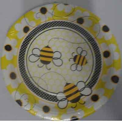 TheVarietyShop_Bee_Plates_8pc
