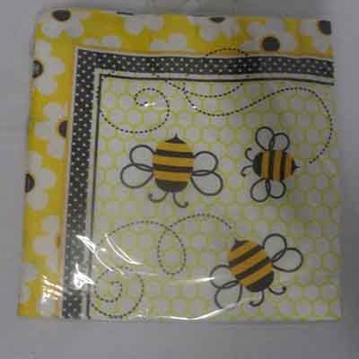 TheVarietyShop_Bee_Serviettes_16pc