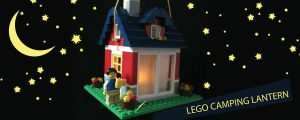 The Variety Shop - Blog - Lego Camping Lantern
