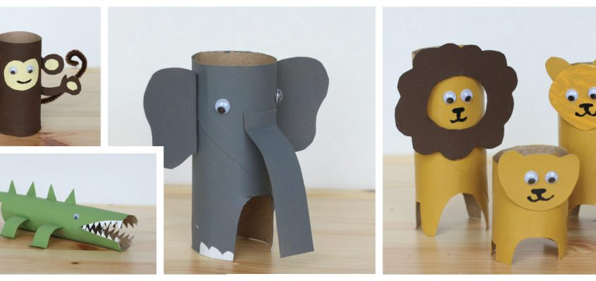 How to Make Paper Roll Animals