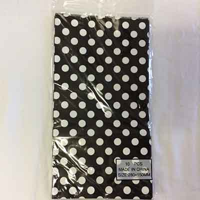 TheVarietyShop_CandyBag_10pc_280x150mm_BlackPolkaDot