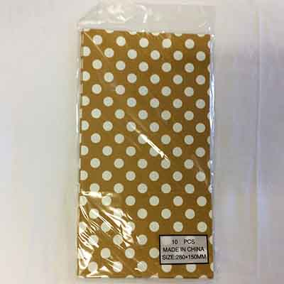 TheVarietyShop_CandyBag_10pc_280x150mm_GoldPolkaDot