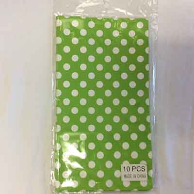 TheVarietyShop_CandyBag_10pc_280x150mm_LimePolkaDot