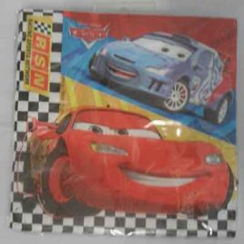 20pc Cars Serviettes