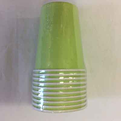 TheVarietyShop_CupsColours_10pc_Lime