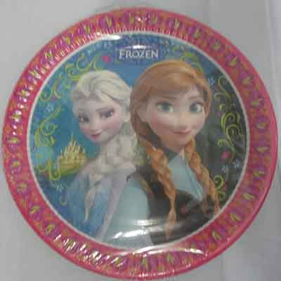 TheVarietyShop_Frozen_Plates_8pc
