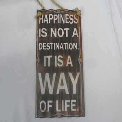 TheVarietyShop_Metal_Plaque_Happiness