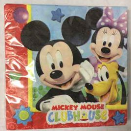 20pc Mickey Serviettes