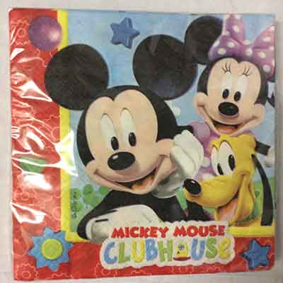 TheVarietyShop_Mickey_Serviettes_20pc