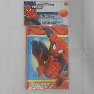 TheVarietyShop_Spiderman_Invites_6pc