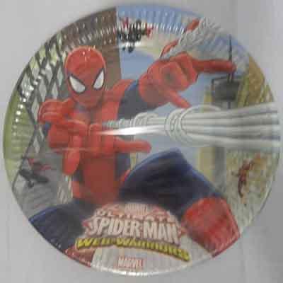 TheVarietyShop_Spiderman_Plates_8pc