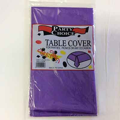 TheVarietyShop_TableCloth_Purple_1.37mX2.74m_1pc
