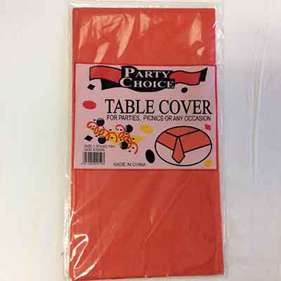 TheVarietyShop_TableCloth_Red_1.37mX2.74m_1pc