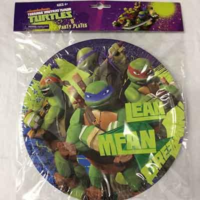 TheVarietyShop_Turtle_Plates_8pc