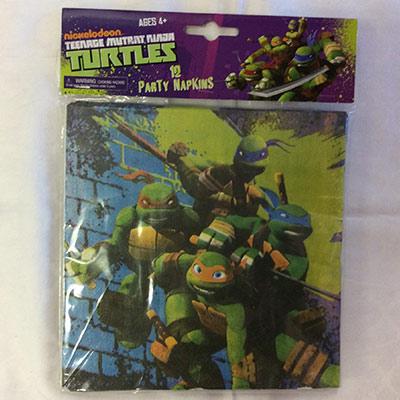 TheVarietyShop_Turtles_Serviettes_12pc